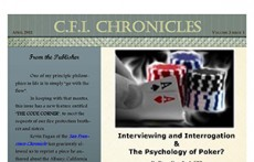 CFI Chronicles, Volume 3, Issue 1